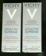 Lot Of 2 Vichy Hypoallergenic Liftactiv Supreme Anti Wrinkle France 2x 3 ml. New