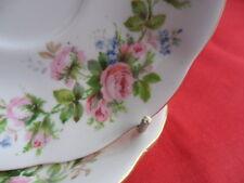 Royal Albert Moss Rose, 2 x Teacup Saucers (No Teacups)