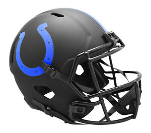 Indianapolis Colts Full Size Eclipse Speed Replica Helmet New In Box 26915