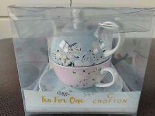 Crofton thé pour un service à thé papillon dessin pastel blue.pink nouveau