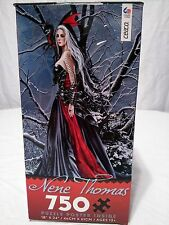 "Nene Thomas 'Shadows and Snow""  750pc Jigsaw Poster Puzzle Gothic Romance"