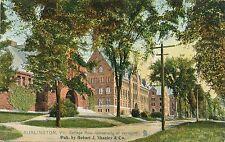 BURLINGTON VT – University of Vermont College Row Tuck Postcard