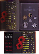 1995 Royal Australian Mint PROOF Set Year Set Birthday Baby Birth World War 11