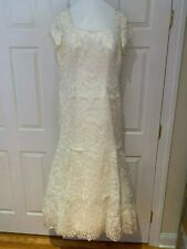 ALLURE MODEST BRIDAL COLLECTION M500 Size 16 Ivory Wedding Dress