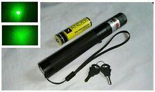 Starker Laserpointer 2in1 8000m Grün Schlüssel Drehbarer Aufsatz NEU