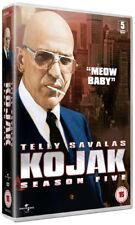 Kojak: Season 5 DVD (2011) Telly Savalas cert 15 5 discs ***NEW*** Amazing Value