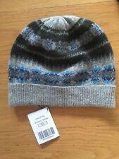 94074bb6b0f Hackett London Jacquard Block Beanie hat with cotton lining inside N