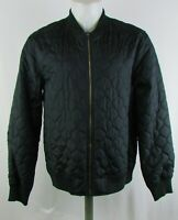 Mossimo Men's Black Quilted Full-Zip Jacket