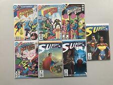 Lot 13 Phantom Zone (1982) #1-4 All Star Superman (2005) from #1-10 VF Very Fine