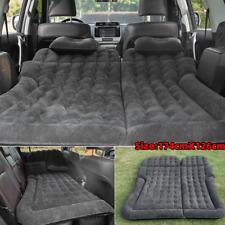 Inflatable Travel Car Air Bed Camping Mattress Back Seat Sleep Rest Pillow/Pump!