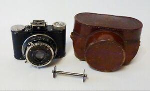 Nagel Pupille 1930's Vintage German Camera with Elmar 5cm f/3.5 #113026