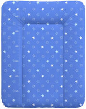 Wickelauflage 70x50 Wickeltischauflage Wickeltisch phtalanfrei M Zebra blau