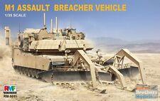 Rye Field Model 1:35 M1 Abrams Assault Breacher Vehicle Plastic Model Kit #5011
