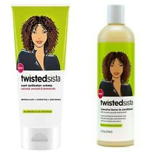 Twisted Sista Bundle | Intensive Leave-in Conditioner & Curl Activator Creme