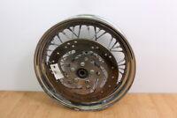 2004 HARLEY DYNA LOW RIDER FXDLI Rear Wheel / Rim With Brake Rotor 16