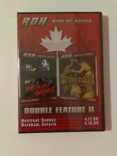 ROH Ring Of Honor Double Feature II DVD BRAND NEW & SEALED