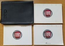 GENUINE FIAT 500 HANDBOOK WALLET MANUAL 2007-2013 WALLET PACK E-223