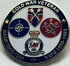 BAOR British Army Of The Rhine Royal. Air Force Germany. BFG Cold War Veteran