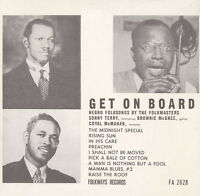Sonny Terry - Get on Board: Negro Folksongs By the Folkmasters [New CD