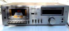 PLATINE MAGNETOPHONE  TECHNICS   RS-M22.  (enregistreur et lecteur) + NOTICE.