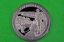 2016-S GEM Proof Deep Cameo (Theodore Roosevelt) National Park Quarter(c/n clad)