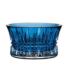 Waterford Crystal Lismore Diamond Sapphire Cobalt Nut Bowl Giftware