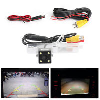 Reverse Backup 4LED Camera Waterproof Fit For Subaru Outback 2010-2014 A1
