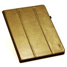 """Cubierta para Samsung Galaxy Tab S2 9,7"""""""" Cuero Funda Protectora Smart Gold"""
