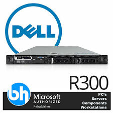 Dell PowerEdge R300 1U Rack Server Dual Core E3113 3.0GHz 8GB ECC RAM SAS6 DRAC5