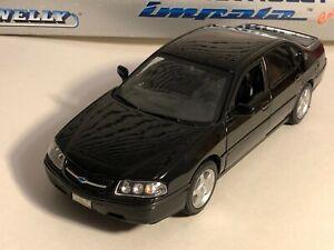 WELLY 2001 CHEVY IMPALA BLACK 1:26  NEW NO BOX  #511