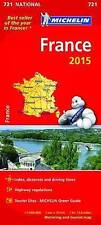 France Map 2015 (Michelin Road Atlases & Maps)