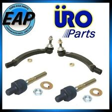 For Volvo S60 S80 V70 2.3 2.4 2.5 2.9 Pair of Inner Outer Tie Rod Ball Joint NEW