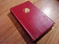 The Day's Work, Rudyard Kipling 1923 Hardcover Leather Doubleday, Page & Co