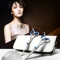2x Salon Professional Barber Hair Cutting Thinning Scissors Shears Hairdressing