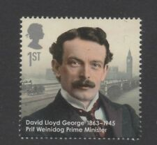 DAVID LLOYD GEORGE/POLITICS/PRIME MINISTER/GB 2013 UM MINT STAMP