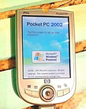 Hp Ipaq H1910 Pocket Pc with Case and Stylus Read Description Works