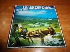 LA EXCEPCION ¡Cata cheli! CD ALBUM PROMO CARTON 2003 RELLENITO ANTONIO CARMONA