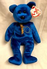 Unity the Bear Ty Beanie Babies Baby European Exclusive EU New With Tags