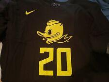 Oregon Ducks Sabrina Ionescu Black T Shirt Large- New