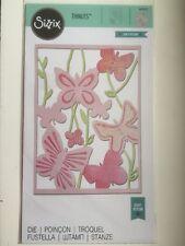 Sizzix Thinlit Large Die Spring Garden by Craft Asylum 660432 New Free P & P