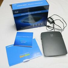 Linksys E900 300 Mbps 4-Port 10/100 Wireless N Router (E900-NP)