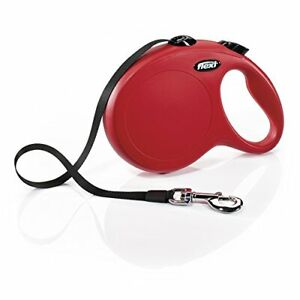 Flexi New Classic Tape Retractable Leash Red Large/26'