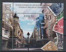 Yugoslavia XI philatelia exhibition in Belgrade mini sheet Mi#55 2002 MNH **