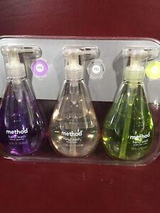 Vintage Method Hand Wash 3 Pk French Lavender, Sweetwater, Green Tea & Aloe 2004