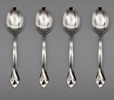 Oneida Stainless Flatware Tribeca (Glossy) Serving Spoons - Set of Four * Usa