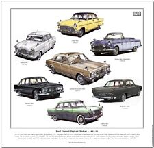 FORD CONSUL / ZEPHYR / ZODIAC  Fine Art Print - MkI MkII Convertible Executive 6