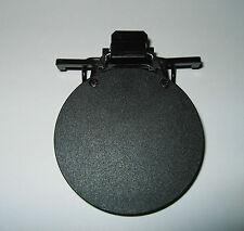Clip-on Eyeshield Round Black #391S