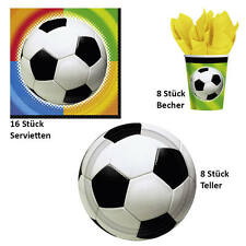 Partysets Fußball