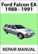 FORD FALCON EA Series 1988-1991 REPAIR MANUAL