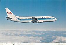 AIR UK LEISURE BOEING 737-400 SERIES Airline Airplane Postcard